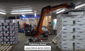 New Freezer Palettizing Robot for the Seafood Industry
